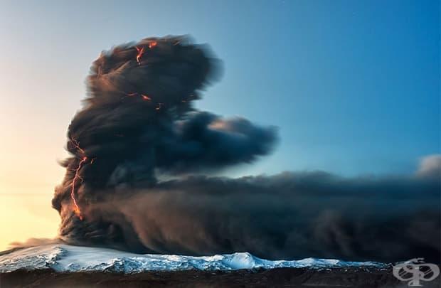 Изригването на вулкана Ейяфятлайокутъл