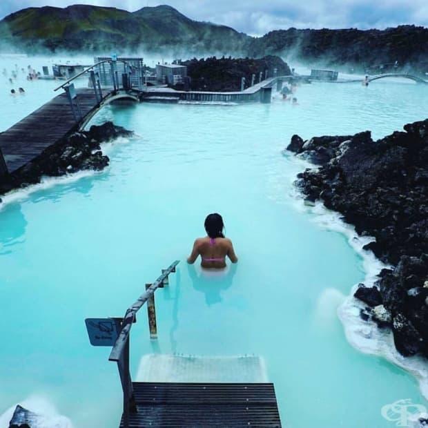 Исландия – северни сияния, зеленина и лед!