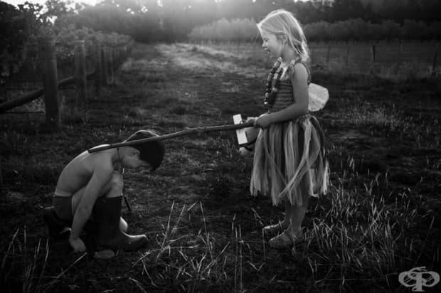 """""""Те бягат и играят, където си искат и живеят в хармония с природата."""""""