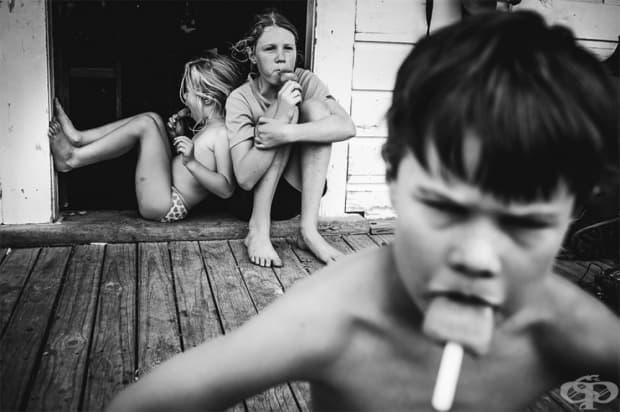 """""""Децата ми растат без телевизор и съвременни електронни уреди."""""""