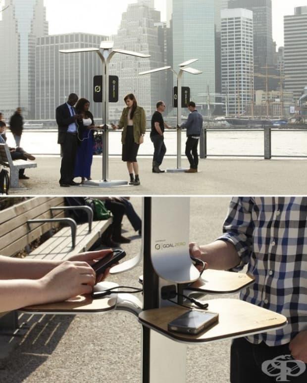 Тези безплатни публични зарядни за смартфони