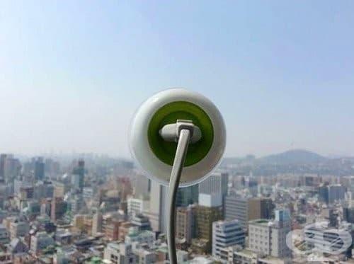 Портативен соларно захранващ се контакт