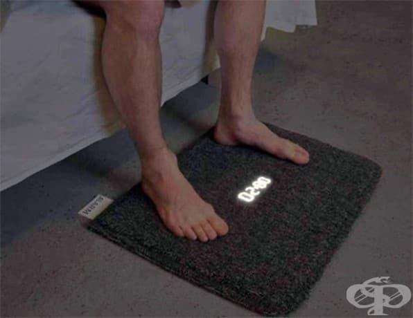 Постелка будилник: трябва да станете, за да го изключите