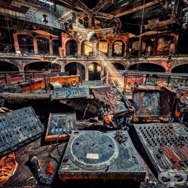 Нощен клуб, опустошен от пожар, Австрия