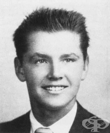 18-годишният Джак Никълсън, 1955.