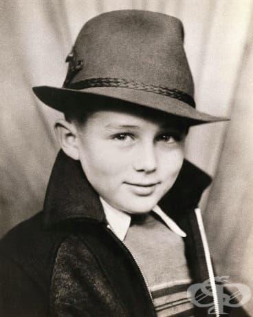 7-годишният Джеймс Дийн, 1938.