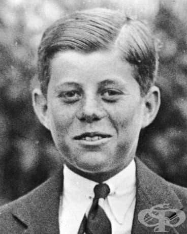 10-годишният Джон Ф. Кенеди, 1927.