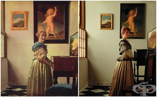 Джулиан Мур като произведение на изкуството