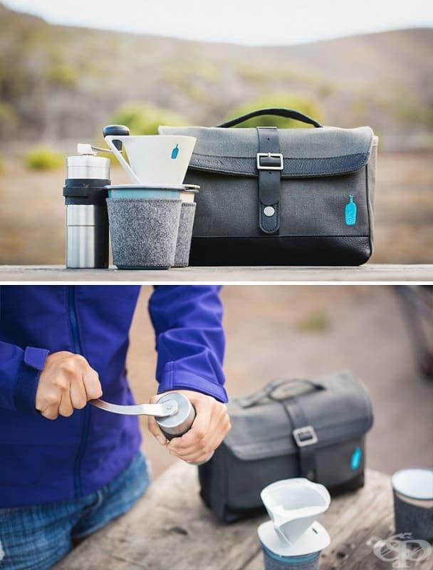 Кафе сет за пътешественици