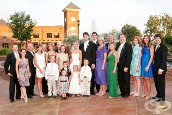 Как работи генетиката: запознайте се отблизо с роднините на младоженците.