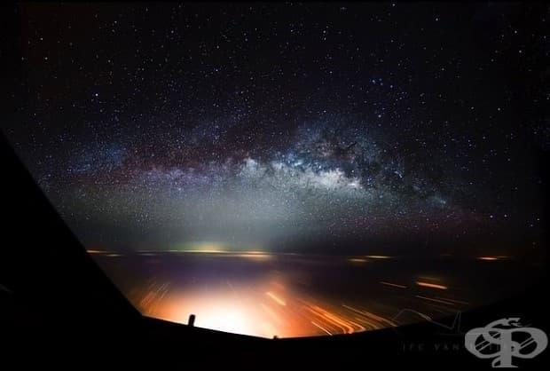 Млечният път над Калкута.