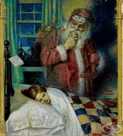 """Норман Рокуел, """"Дядо Коледа"""", 1921"""
