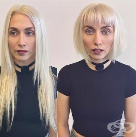 17 снимки преди и след, които доказват, че късата коса променя всичко