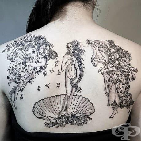 Раждането на Венера, Сандро Ботичели