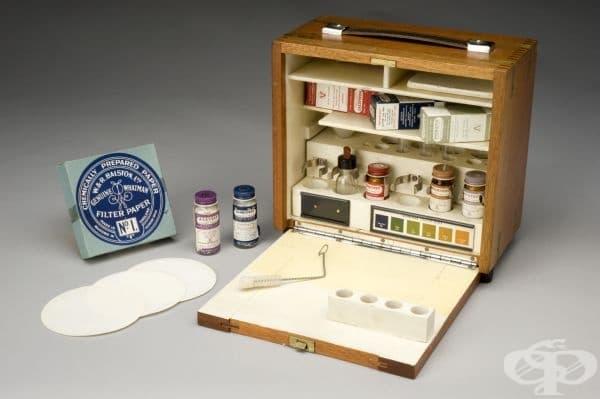 Британската армия е дарила този комплект за английския музей на науката.