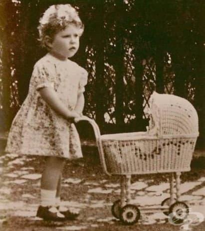 малката принцеса Елизабет