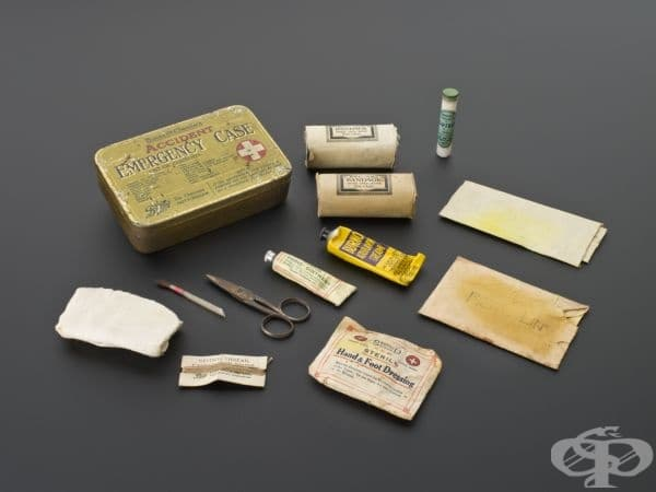 Комплект за оказване на първа помощ в случай на инциденти от 1920 година