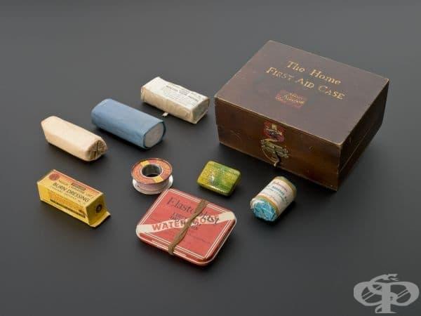 Комплект за първа помощ за домашна употреба от 1939 година