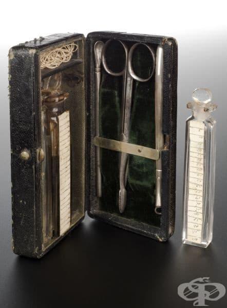Комплект с инструменти за спиране на следродилното кръвотечение