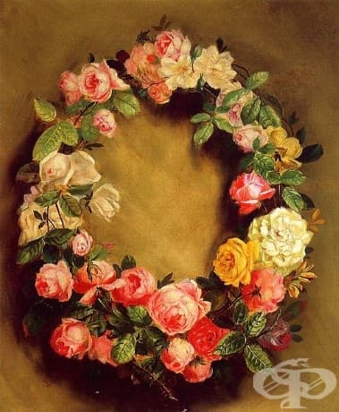 "Пиер-Огюст Реноар, ""Короната на розите,"" 1858"