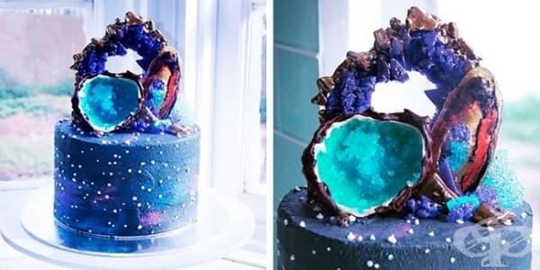 "Торта ""Галактически диаманти"""