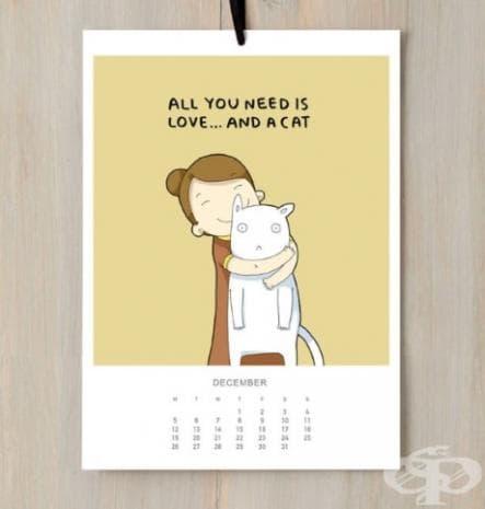 Всичко, от което се нуждаем, е любов... и котка