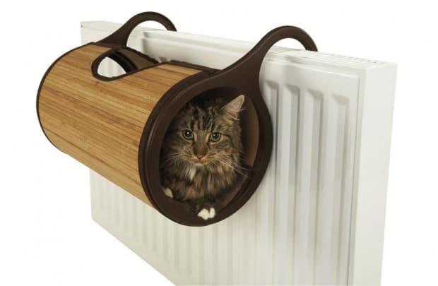 Котешко легло за прикрепяне към радиатор