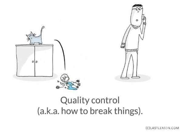 Контрол на качеството (или как се чупят неща).