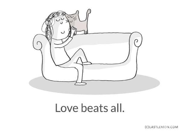 Любовта побеждава всичко.