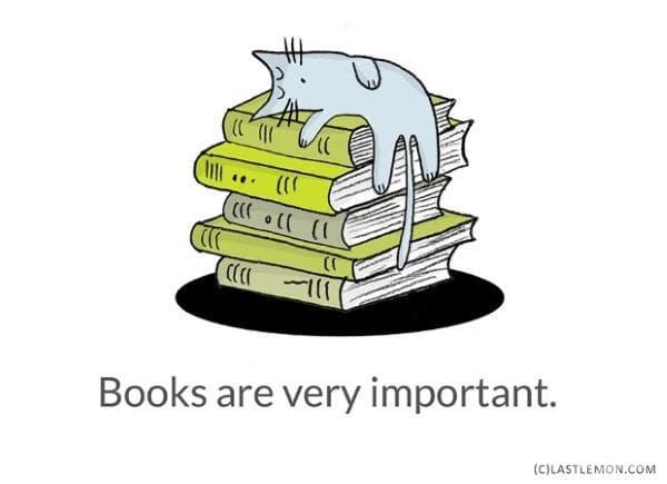 Книгите са много важни.