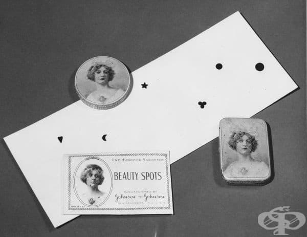 """Красиви украшения за лице на """"Джонсън и Джонсън"""" от началото на 20-ти век"""
