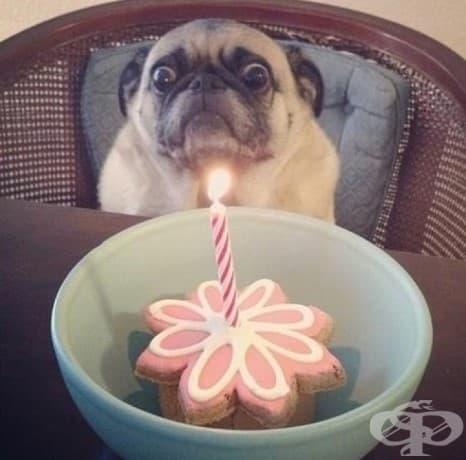 Когато се страхуваш дори и на рождения си ден.