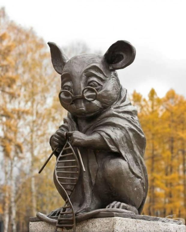 Паметник на лабораторните мишки