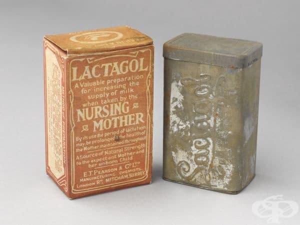 """""""Lactagol"""" - английската хранителна добавка от 1920 година"""