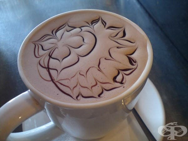 Вдъхновение в чаша кафе