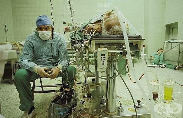 Имайки предвид, че дори успешната сърдечна операция може да продължи повече от 20 часа.