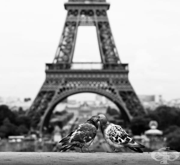 Париж – градът на любовта.