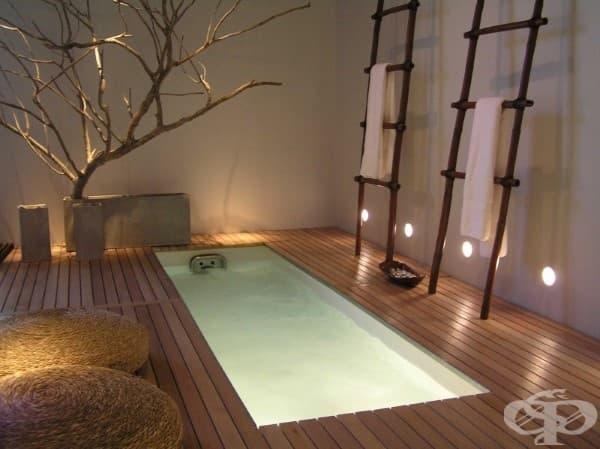 Релаксираща дзен баня