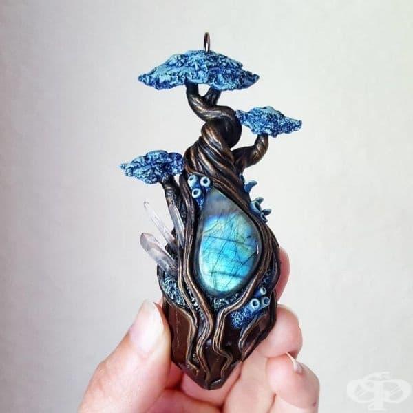 Магическата гора - вдъхновяващи бижута от Шерил Лий