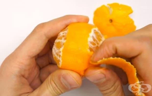 Как да поднесете мандарината по интересен начин?