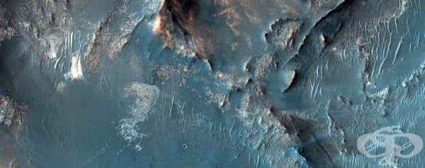 Възможното място за приземяване на мисията Марс 2020, която НАСА има намерение да изпрати до няколко години.