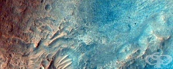 Двуцветната прелест на Марс.