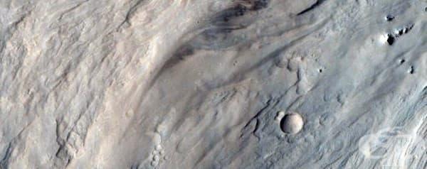 Алувиални ветрила, които са едно от доказателствата, че някога на Марс е имало вода.