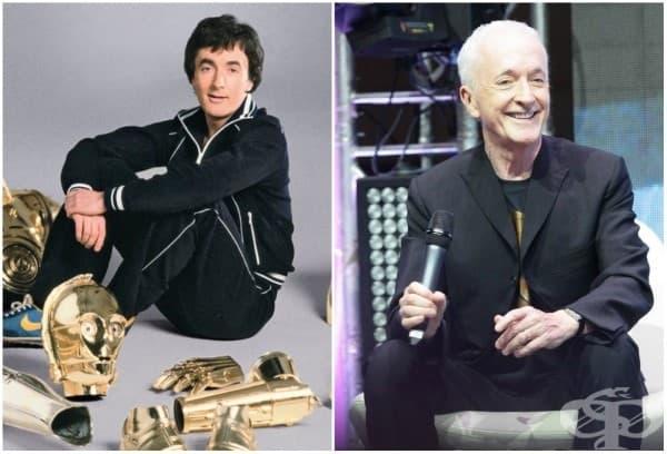 Антъни Саниелс /C-3PO/, 1977 и 2015