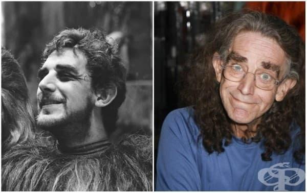 Питър Мейхю (Чубака/, 1977 и 2015