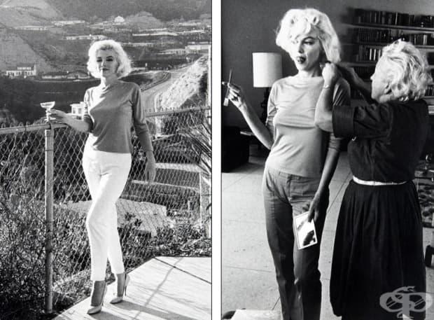 Редки кадри от последната фотосесия на Мерилин Монро бяха обявени на търг
