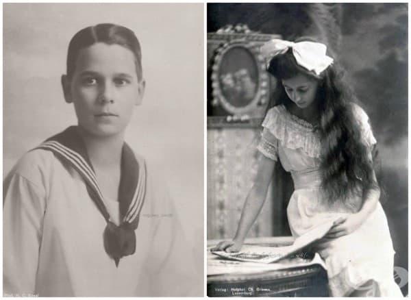 Австрия и Люксембург – принц Ернст Хохенбергски /син на Франц Фердинанд/ и принцеса Антониа Люксембургска