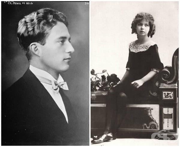 Белгия – принц Леополд и сестра му принцеса Луис
