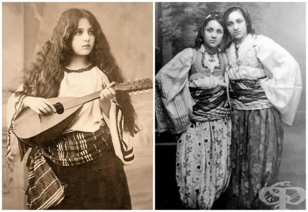 Албания; на снимката вляво е момичето, което по-късно ще стане известно по целия свят като Майка Тереза