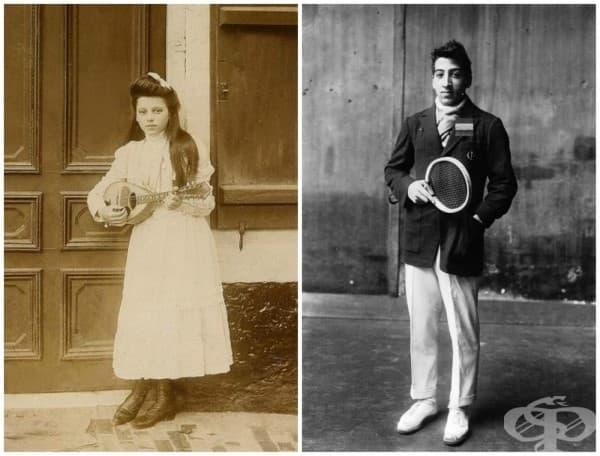 Франция /вдясно е Рене Лакост, тенис играч и бъдещ основател на марката Lacoste/